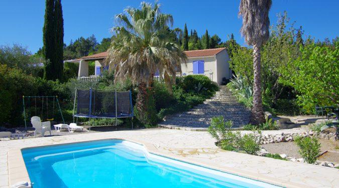 Villa in Zuid-Frankrijk met privé zwembad