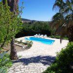 101 Le Mistral zicht zwembad