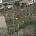 Montbrun kavel 12500m2 verdeling in 8 kavels met ontsluiting en nrs